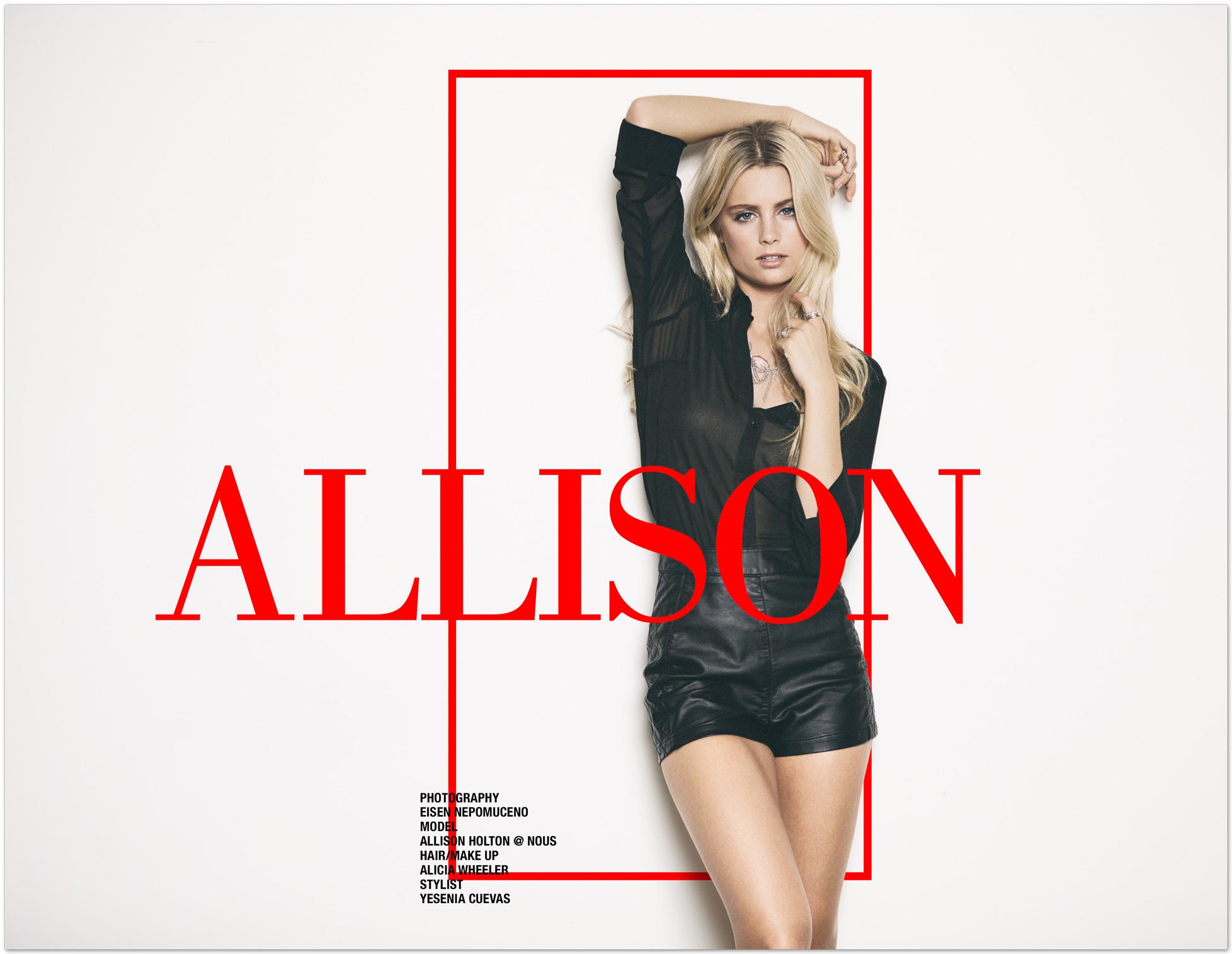 Allison Holton @ Nous by Eisen Nepomuceno